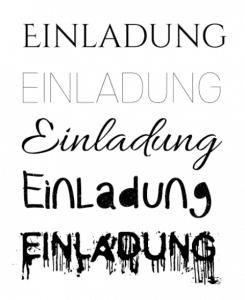 Was ist Typografie