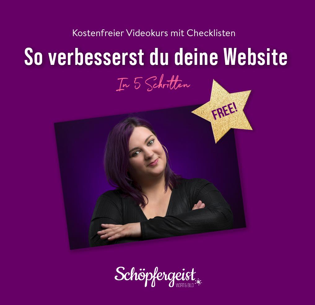 Homepage verbessern
