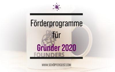 Gründungszuschuss beantragen – Förderprogramme für Gründer 2020