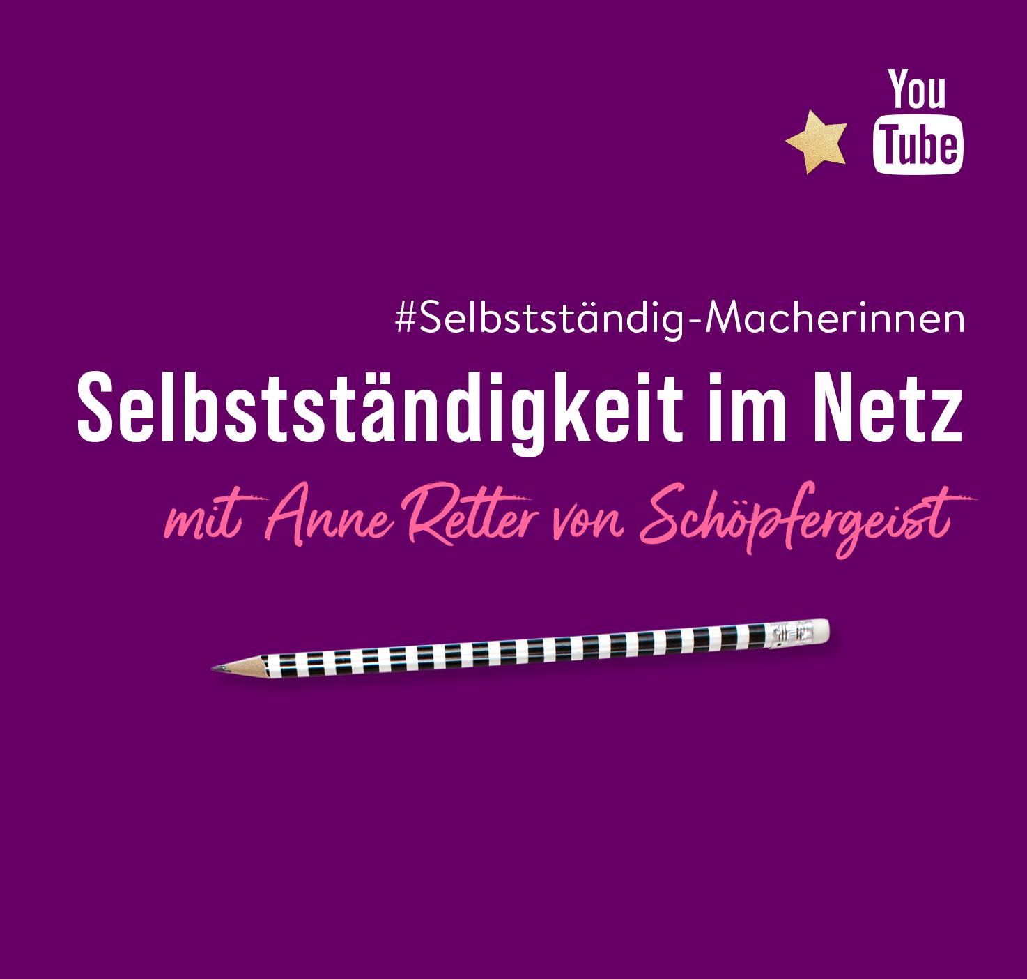 Youtube Schöpfergeist Anne Retter