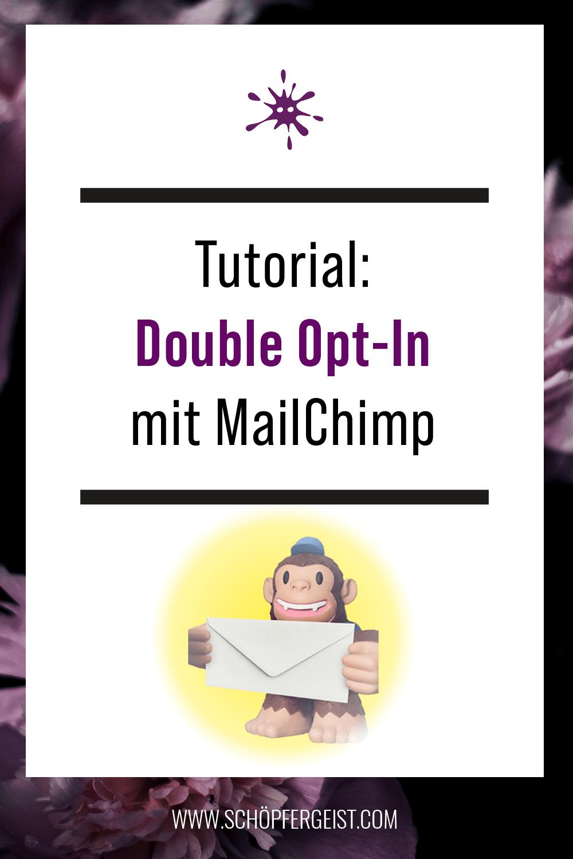 Video Tutorial Double Opt in Mailchimp Deutsch